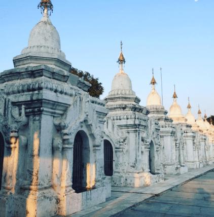 Mandalay pagoda's