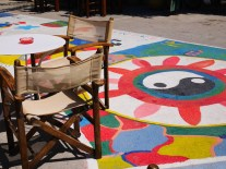 Matala hippie tekeningen kreta