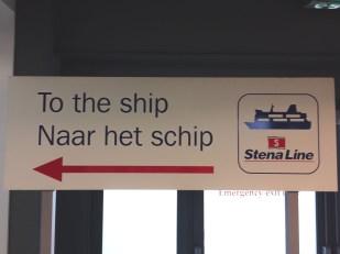 Met de ferry naar Londen StenaLine met de trein schip