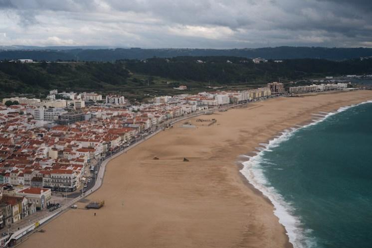 Nazare strand portugal 23