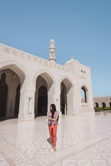 Oman sultan moskee in muscat