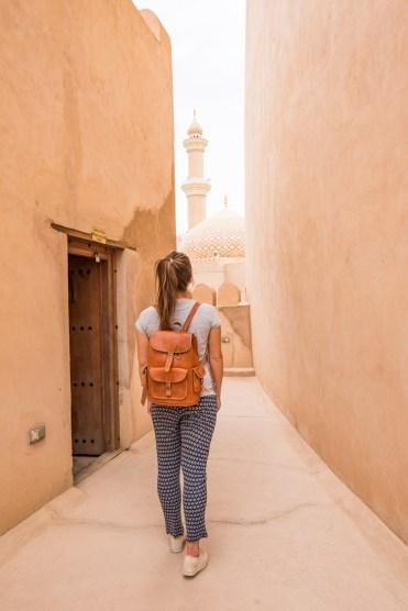 Oman vakantie Nizwa moskee