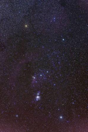 Orion sterren kijken