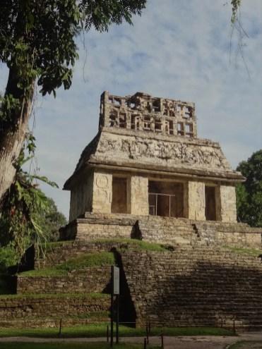 Palenque Tempel van de Zon