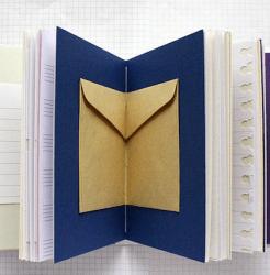 Reisdagboek verschillende papier