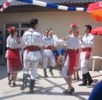 Roemenie dorpjes traditionele dans