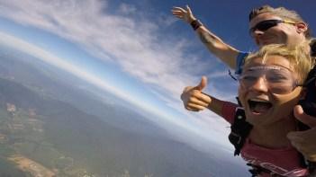 Rowie backpacken australie bunjee jump