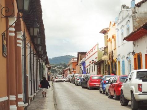 San Cristobal de las Casas straat mexico
