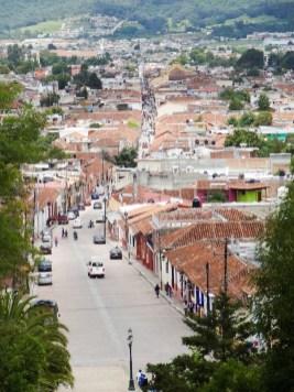 San Cristobal de las Casas uitzicht