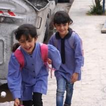Schoolkinderen in Amman