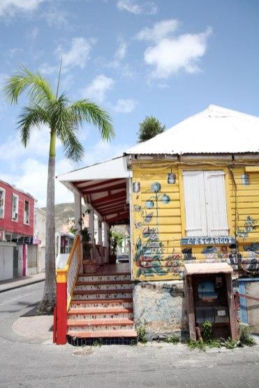 Sint Maarten Philipsburg Front Street