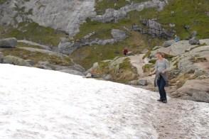 Sneeuw Kjeragbolten Boulder