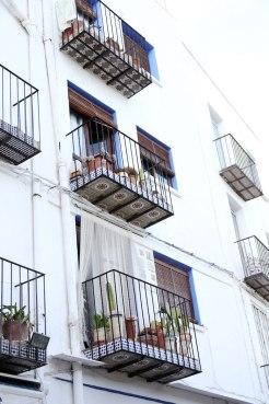 Stadje peniscola balkon