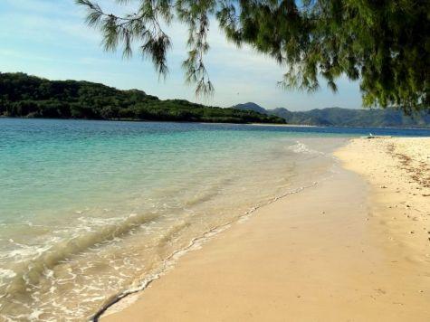 Strand gili nanggu indonesie