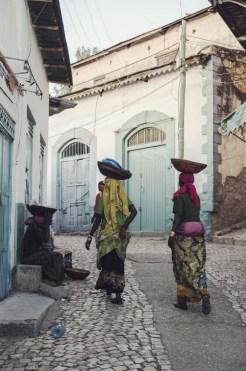 Straten harar ethiopie