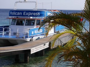 Sunset tour met Pelican express curacao