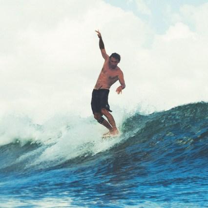 Surfen atlantische kust golf