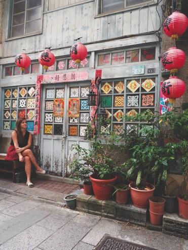 Tainan-taiwan-Hai-An-Road