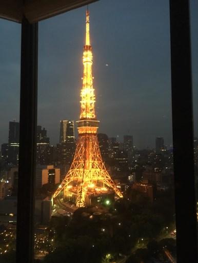 Tokyo Tower in tokyo japan