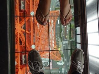 Tokyo tower naar beneden
