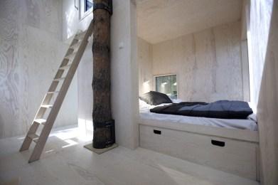 Treehotel zweden binnenkant the Mirrorcube 1