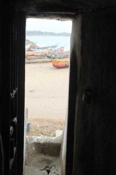 Uitzicht vanuit fort Ghana