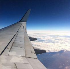 Vakantie vliegtuig