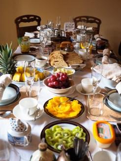 Valencia Mindfulness Retreat cava ontbijt