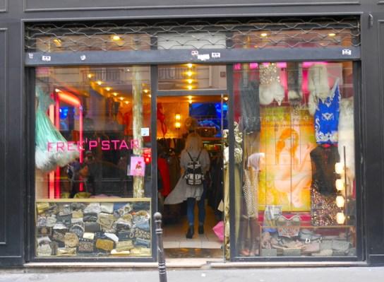 Vintage shoppen bij Free'p'star parijs