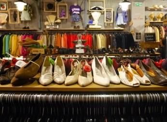 Vintage winkel kiloshop parijs