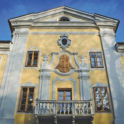 Vipava slovenie gebouwen