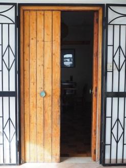 Voordeur vakantiehuisje interhome sicilie