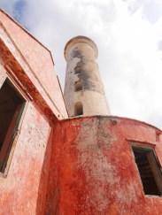 Vuurtoren op het eiland klein curacao