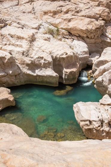 Wadi Shad zwemmen Oman-2