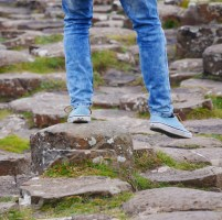 Walk in the footsteps of giant's causeway ireland