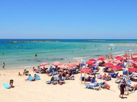 Wat te doen in Tel Aviv strand banana beach-4