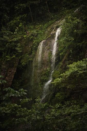 Waterval in Manu Jungle Peru