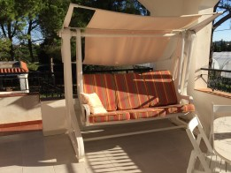 Zonnetje schommelstoel sicilie