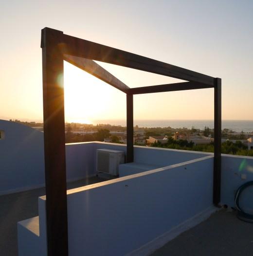 Zonsondergang belvilla kreta