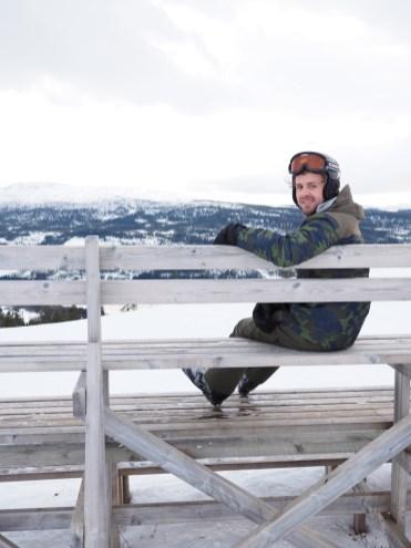 activiteit lapland skiën bank
