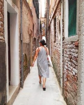 alleen naar italie op reis farah