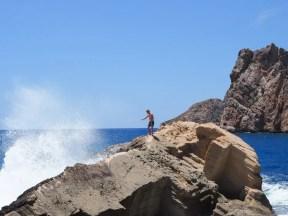 atlantis Ibiza geheim strand rotsen