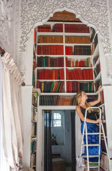 bibliotheek tunesie thuis