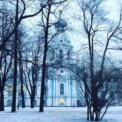 bomen sint peterusburg rusland