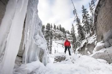 canyon maligne wandeling canada