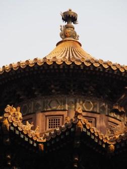 Beijing Verboden stad dak