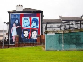 derry murals noord-ierland bogside