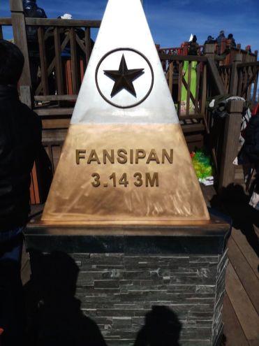 fansipan 3143 meter hoogte sapa vietnam