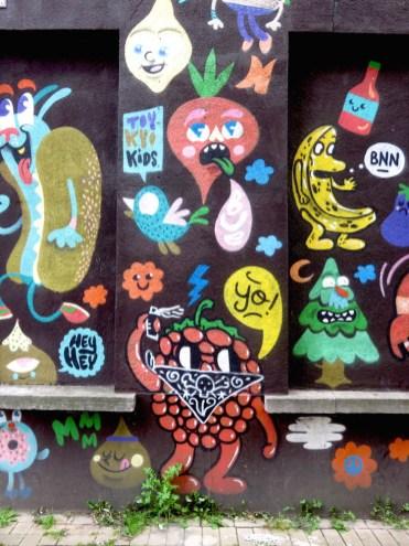 gent street art Supermarkt