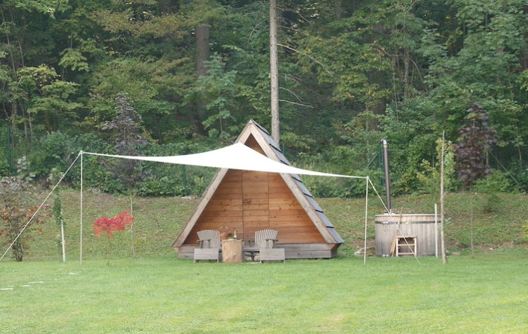 glamping in lake bled